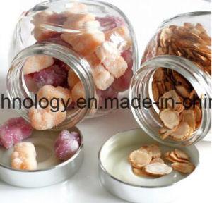재생된 유리제 향미료 음식 저장 유리제 단지 병