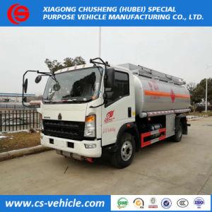 5m3 ~ 10m3のアルミ合金の燃料タンクのトラックの石油タンカーのトラック