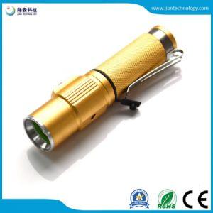 Zoomableの携帯用クリー族LED 4W LEDの懐中電燈