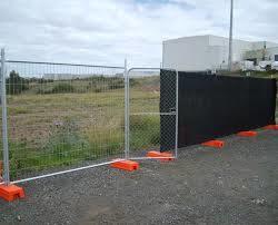 Australia galvanizado Standard Mallas Soldadas cercas temporales