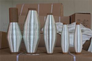 Белый цвет не щелочной стеклянной пряжи электрической изоляции и антикоррозионная обработка