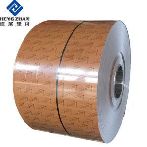 Tira de aluminio con recubrimiento de color para el obturador (1100, 3003, 3105)