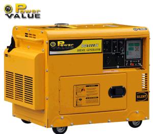 Portable cinese poco costoso 5kw Diesel Generator Manufacturer, 5kVA Silent Small Diesel Generator, Mini Generator Power