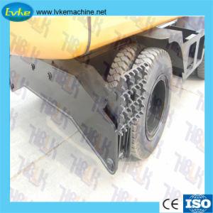 El equipo de excavación de la excavadora de rueda con 0,45 de la cuchara cbm