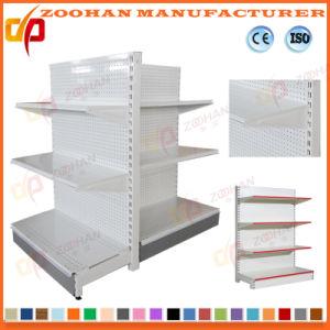 Qualität rückseitige Pegboard Regal-Ausstellungsstand-Supermarkt-Regale (ZHS612)