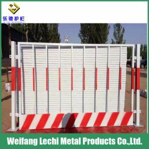 La sécurité de la construction de clôtures temporaires enduit de poudre pour l'extérieur