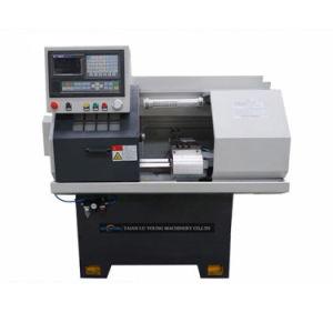 Ck0640 CNC Horizontal de trabajo de la máquina de alimentación de la barra de Auto