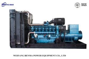 3 fase 4 de Diesel van de Aansluting van de Stijl van de Lijn Y Reeks van de Generator met Lichte Viberation