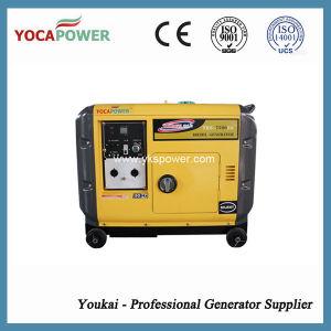 EPA стандарт излучения 5.5kw портативный Silent генераторной установки