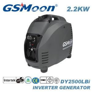 Potência portátil 2.5kVA AC Gerador Inversor Digital