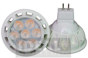 Weißes Shell Ce/RoHS der LED-Birnen-MR16 7X1w 12V