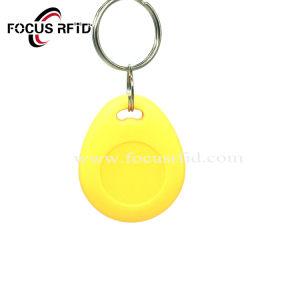 주문을 받아서 만들어진 개인적인 인쇄 RFID NFC 중요한 Fob 꼬리표