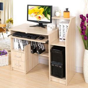 Escritorio casero de madera barato moderno de la for Muebles de escritorio baratos