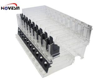 Rack de acrílico resistente a prateleira do Visor de acrílico para cosmética