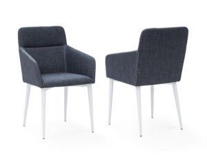 Moderne Armlehnen-Büro-Wohnzimmer-Metallgewebe-Freizeit, die Stuhl speist