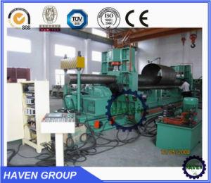 W11S-25X2500 유압 보편적인 유형 강철 플레이트 회전과 구부리는 기계