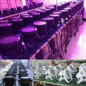 54X3W RGB 3 en 1 Al Aire Libre Impermeable LED PAR Can Ligero