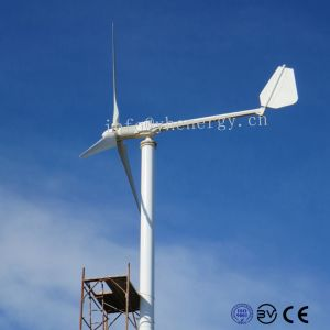 1kw 2kw 가득 차있는 분대를 가진 지붕에 의하여 거치되는 바람 터빈