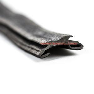 A Borracha raspadora de borracha do tecto de perfis extrudados de fita de vedação para auto-Brisa