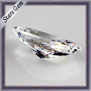 Piedras preciosas joyas sueltas Aaaaa Blanco Marquesa Corte CZ