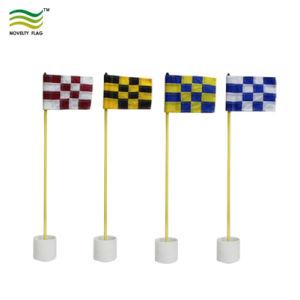 Campo de Pavilhão de plástico com tubo inserido no Pólo esquerdo Mini Golfe personalizadas da Luva