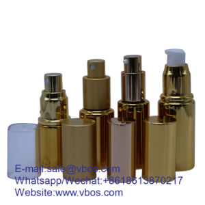 10ml/20 ml/30ml/40ml/50ml Bouteille en verre clair avec compte-gouttes/pulvérisateur/Lotion/plastique