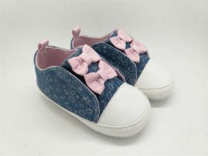 Chaussures de bébé pour Bébé doux avec de belles Bowknot Upper