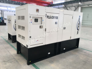 100kVA Cummins/Kwise Ce/ISO를 가진 침묵하는 디젤 엔진 발전기 세트