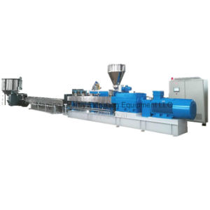 Máquina de extrusión de polímeros de poliéster Pelletizer Pet
