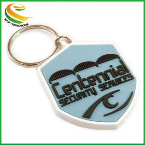 Рекламная новая конструкция цепочки ключей с индивидуального логотипа