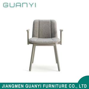 Простая конструкция высокой задней подушки ткани кресло в подлокотнике