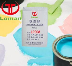 Het Rutiel TiO2 Lr908 van het Dioxyde van het Titanium van het Proces van de chloor