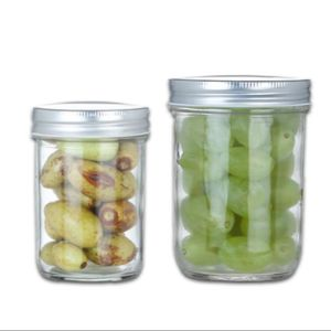 Mason Jar de almacenamiento de la cocina de vidrio cristal de Jar Jar de almacenamiento de alimentos