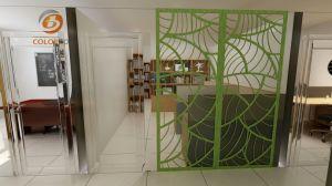 Büro-Dekor Partiition Polyester-Faser-Kern-Material-Bildschirm