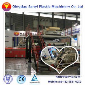 Spcのプラスチックビニールのフロアーリングの板の床タイルの押出機機械