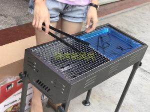 일본 목탄은 조정할 (큰) 옥외 바베큐 석쇠 BBQ의 고도를 수 있다