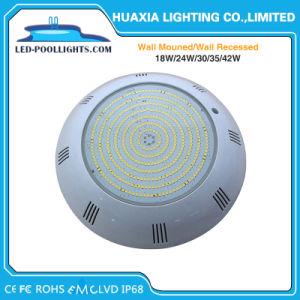 42W indicatore luminoso subacqueo di colore IP68 LED dell'indicatore luminoso blu della piscina