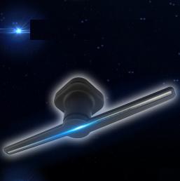 Ventilateur holographique en 3D'hologramme hologramme Périphérique affichage vidéo