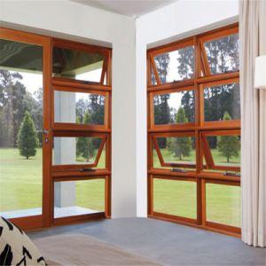 Finestra di alluminio della tenda/doppio Windows lustrato