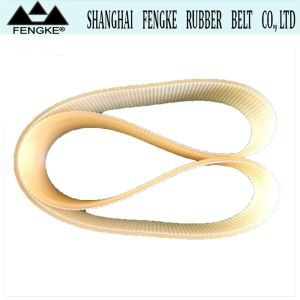 Cord 강철 Yellow PU Timing Belts 7X102X80