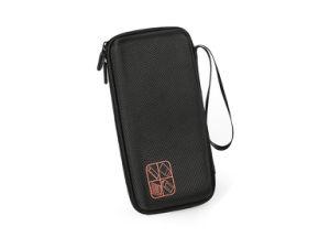 Grafik-Rechner-Reißverschluss tragen Kasten mit Handgelenk-Griff