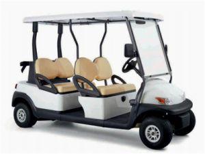 Carros de Golfe eléctrico 4 lugares para o Campo de Golfe Modelo Ds-S4