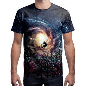 星3Dデジタルの印刷のTシャツ