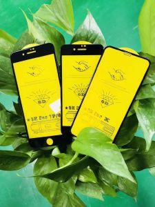 Plein de haute qualité de la colle 6D accessoires pour téléphones mobiles Garde protecteur d'écran verre trempé Def Film de protection