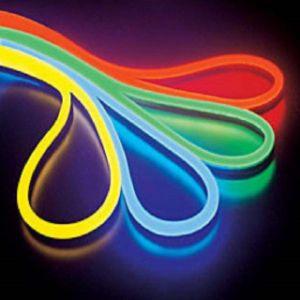 Voyant de changement de couleur Flex au néon de bande avec angle de faisceau de 120 degrés