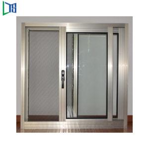 Gitter-Entwurfs-Eckverbindungs-Systems-Aluminium schiebendes Windows