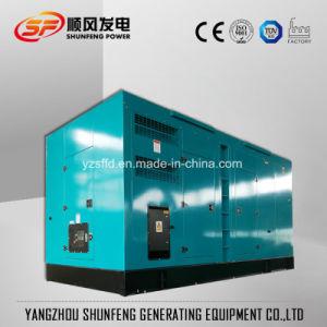Faible bruit de la Chine Shangchai 1000kVA Groupe électrogène diesel de puissance électrique