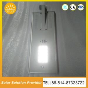 60W Intégré Tout dans Une LED Solaire S'allume pour la Rue