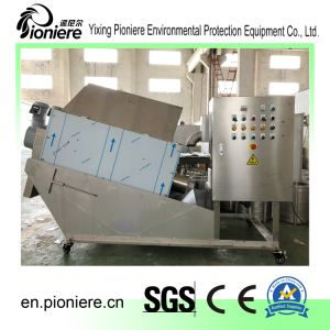 De Ontwaterende Machine van de modder voor De Installatie van de Behandeling van het Water van het Afval van het Visproduct