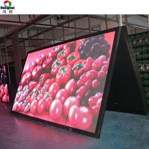 Cores exteriores frente aberta P8/P10 Display LED para publicidade em Outdoor tela de login